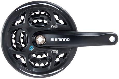 Shimano Altus 28 x 38 x 48t 7 / 8spd 175 mm square W/ガードby Shimano
