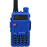 KangLong KL-Y3 Dual Band 136-174MHZ + 400-519.1000MHZ FM Ham Two Way Radio(Yellow)