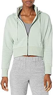Amazon Brand - Core 10 Women's Super Soft Heavyweight Fleece Relaxed Fit Cropped Sweats
