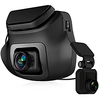 Z-EDGE S3 Dual Dash Cam - Ultra HD 1440P Front & 1080P Rear 150 Degree Wide Angle Dual Lens Car Camera Front and Rear Dash Cam Dashboard Camera with G-Sensor WDR 16GB Card Included