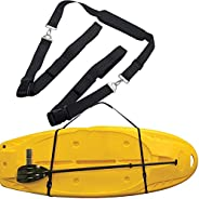 Paddle Board Carrier SUP Paddle Board Carry Strap, Adjustable Paddleboard Shoulder Strap,with Metal Accessorie