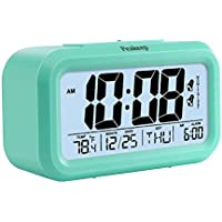 Peakeep Battery Digital Clock with 2, Snooze, Optional...
