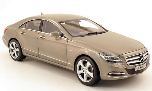 Mercedes CLS-Klasse (C218), mattgrau, 2011, Modellauto, Fertigmodell, Norev 1:18