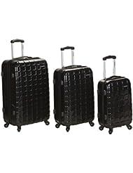 Rockland Luggage Celebrity 3 Piece Luggage Set, Black, One Size