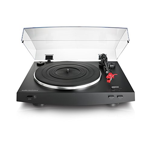 Audio-Technica AT-LP3BK Fully Automatic Belt-Drive Stereo Turntable, Black by Audio-Technica