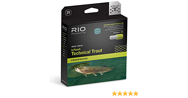 NEW RIO PREMIER TECHNICAL TROUT WF-5-F #5 WT FLOATING FLY LINE SKY IN BLUE//PEACH
