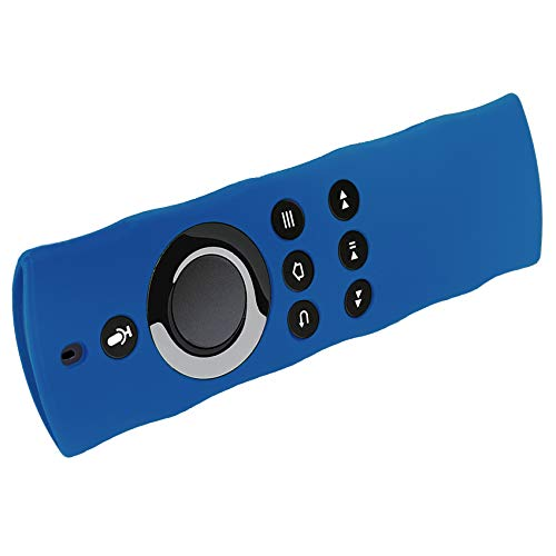 Large Product Image of Silicon Case For Alexa Voice Remote for Fire TV and Fire TV Stick By 1XD GEAR (Blue)