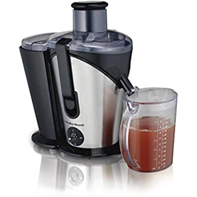 Hamilton Beach Juice Extractor, 2- Speed Big Mouth, Black (67750)