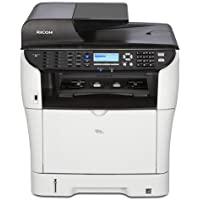 Ricoh Aficio SP 3500SF Laser Multifunction Printer - Monochrome - Plain Paper Print - Desktop - Copier/Fax/Printer/Scanner - 30 ppm Mono Print - 1200 x 1200 dpi Print - 30 cpm Mono Copy LCD - 1200 dpi Optical Scan - Manual Duplex Print - 300 sheets Input - Fast Ethernet - USB - 406967