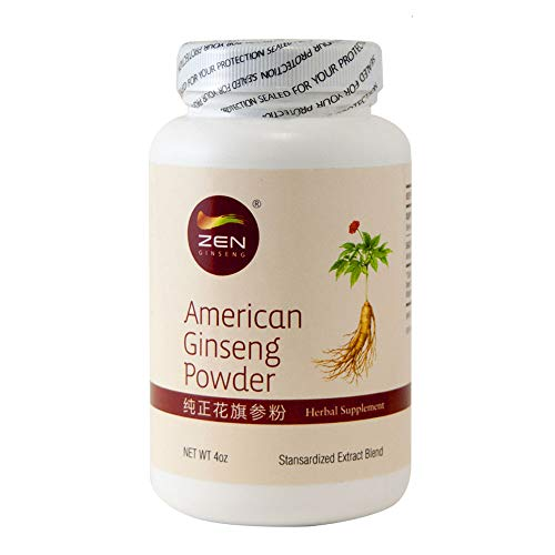 - Ginseng Powder - Pure American Ginseng Root Extract Powder (4oz). Energy, Performance & Mental Health for Men & Women.