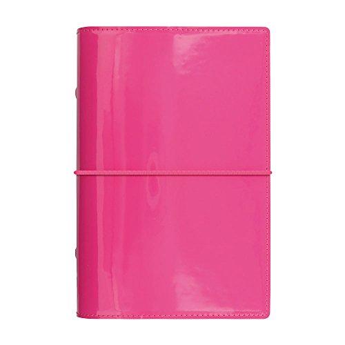 Pink Filofax Pen (Filofax 2019 Personal Domino Organizer, Patent Pink, Paper Size 6.75 x 3.75 inches (C022481-19))