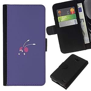 // PHONE CASE GIFT // Moda Estuche Funda de Cuero Billetera Tarjeta de crédito dinero bolsa Cubierta de proteccion Caso LG OPTIMUS L90 / Ant /