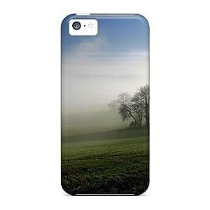 Durable Case For The Iphone 5c- Eco-friendly Retail Packaging(landscape Autumn Landscape Nature)