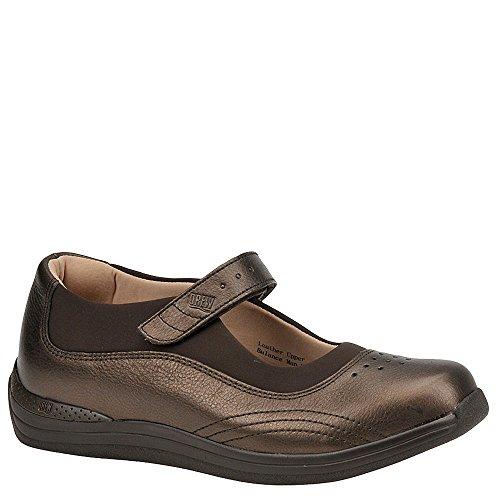 Womens Casual Therapeutic Diabetic Shoe By Drew   Rose   10   Medium  B    Copper Metallic
