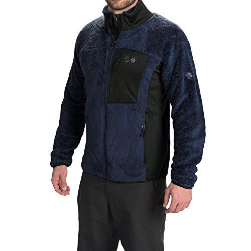 (Mountain Hardwear Men's Monkey Man Heritage Jacket (Large, Collegiate Navy/Shark) )