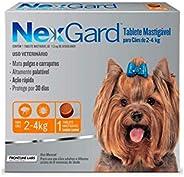 NexGard Antipulgas e Carrapatos xpara Cães de 2 a 4kg 1 tablete
