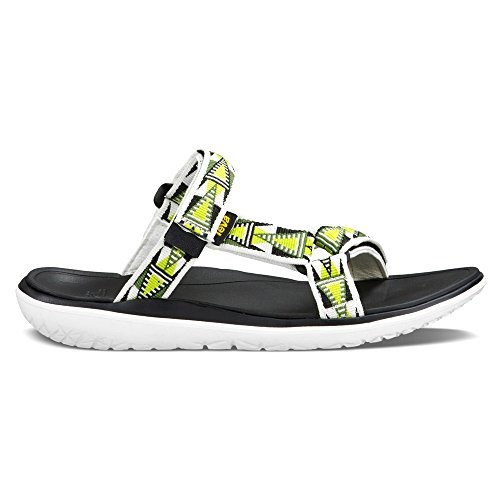 White Women's Mosaic float Athleitc Lexi Sandals Teva Terra W's Lime vIBqxzp