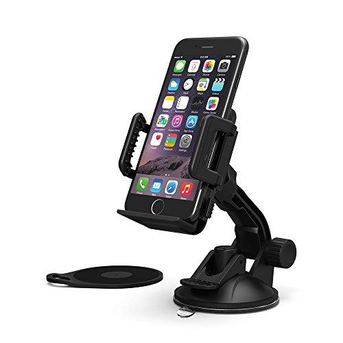 Tt Holder (TaoTronics Car Phone Holder (Black2))