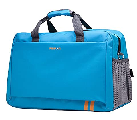 Peiji Sports Duffel Holdall Overnight Carry On Travel Duffel Bag - Sporty Travel Tote