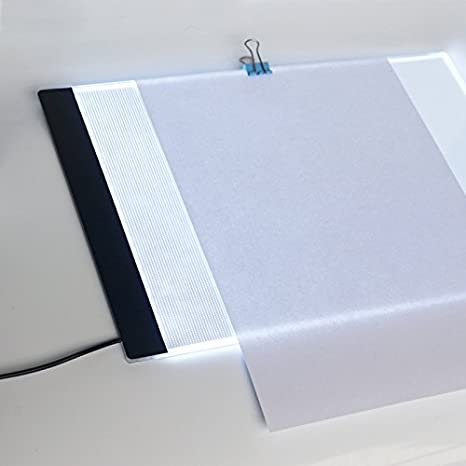 Caja de Luz Para Calcar, LED Light Tracing Pad, Animación Tracer Light Box Dibujo