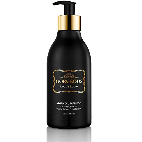 Price comparison product image Gotgeous Argan Oil Shampoo Gold Label NEW IMPROVED PUMP The Official Gordeous eBay Store! Your Trusted Source.