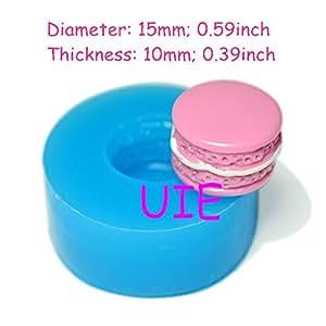 265lbg macaron fondant molde de silicona 15 mm cupcake - Moldes silicona amazon ...