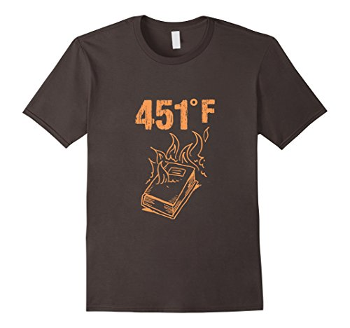 Mens Fahrenheit 451 Alternative Facts Fake News T Shirt 3Xl Asphalt