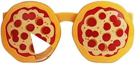 ピザ型メガネ ノベルティサングラス おもしろメガネ フェスティバルパーティー コスプレアイウェア