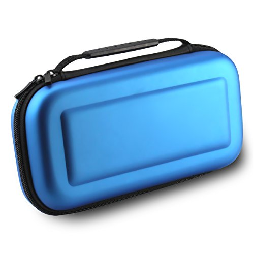 AMAGLE Carrying Bag Case for Nintendo Switch - Blue