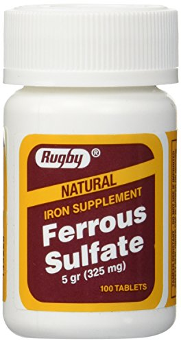 Ferrous Sulfate FC 325mg (5GR) Generic for