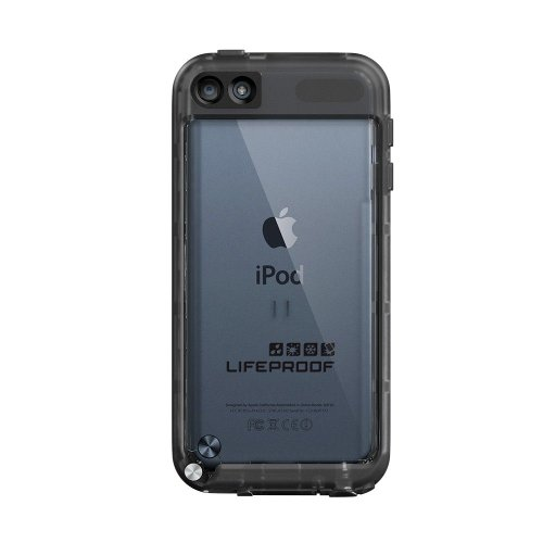 - Lifeproof FRĒ SERIES Waterproof Case for iPod touch 5G/6G - (Black/Clear)