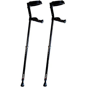 """In-Motion Forearm Crutches with Spring Assist 