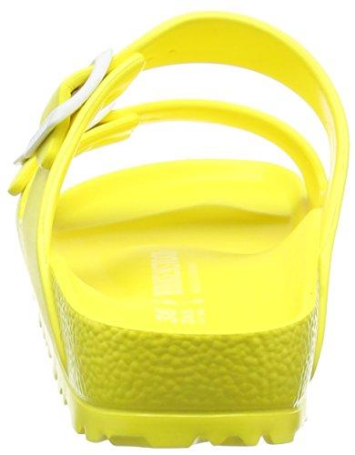 Birkenstock Arizona Eva - Mules Mujer Amarillo - Gelb (Neon Yellow)