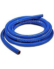 "High Performance Silicone Heater Hose - 5/8"" ID x 10 Feet Blue (.625"" 16mm)"