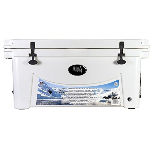 Gun Accessory Supply Airia 100 Quart Rotomolded Cooler, White price tips cheap