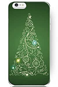 SPRAWL 2014 Christmas Hollyday Phone Case Skin Cover for Iphone 6 Plus 5.5 inch Green Christmas Tree