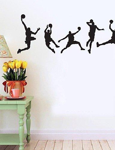 Jugar al baloncesto pared pegatinas decoración. Baloncesto ...