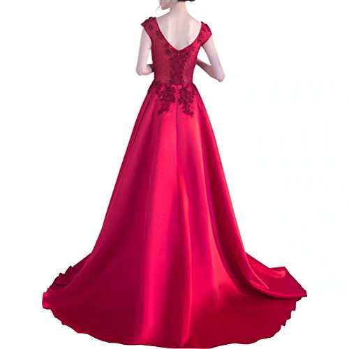 AiniDress Elegant Dresses Sleeveless Appliques Women's Long Dresses Evening Black Prom R8qxTnv