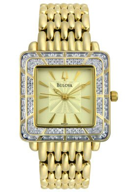 Bulova Women's Diamond Collection watch #98R001