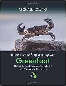 scenarios greenfoot kids book for