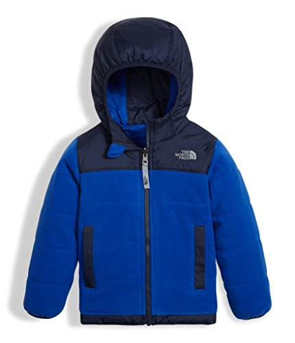 The North Face Toddler Boy's Reversible True Or False Jacket - Bright Cobalt Blue - 3T (Past (Reversible Kids Nylon Jacket)