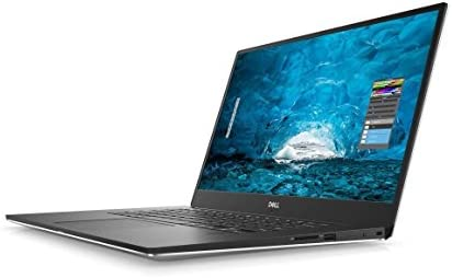 "2018 Dell XPS 9570 Laptop, 15.6\"" FHD (1920 x 1080) InfinityEdge Display, 8th Gen Intel Core i7-8750H, 16GB RAM, 256GB SSD, GeForce GTX 1050Ti, Fingerprint Reader, Windows 10 Home, Silver"