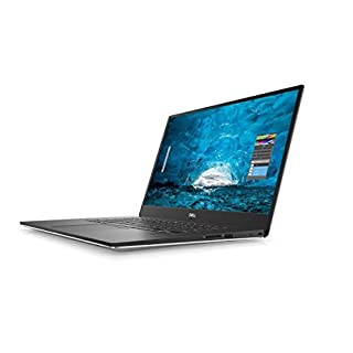 "2018 Dell XPS 9570 Laptop, 15.6"" FHD (1920 x 1080) InfinityEdge Display, 8th Gen Intel Core i7-8750H, 16GB RAM, 256GB SSD, GeForce GTX 1050Ti, Fingerprint Reader, Windows 10 Home, Silver"