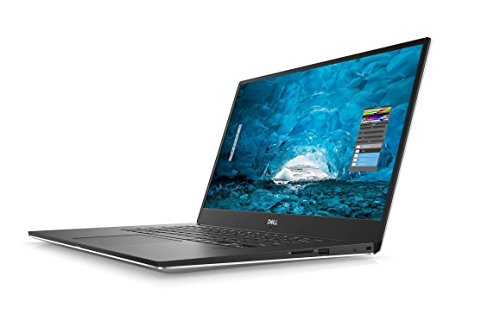 2018 Dell XPS 9570 Laptop, 15.6 FHD 1920 x 1080 InfinityEdge Display, 8th Gen Intel Core i7-8750H, 16GB RAM, 256GB SSD, GeForce GTX 1050Ti, Fingerprint Reader, Windows 10 Home, Silver