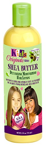Africa's Best Kids Organics Shea Butter Detangling Moisturizing Hair Lotion 12 oz (Pack of 3)