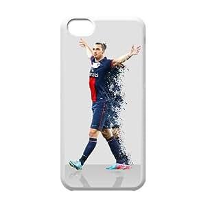 Zlatan Ibrahimovic_004 TPU Cover Unique Phone Case White For iphone 5c