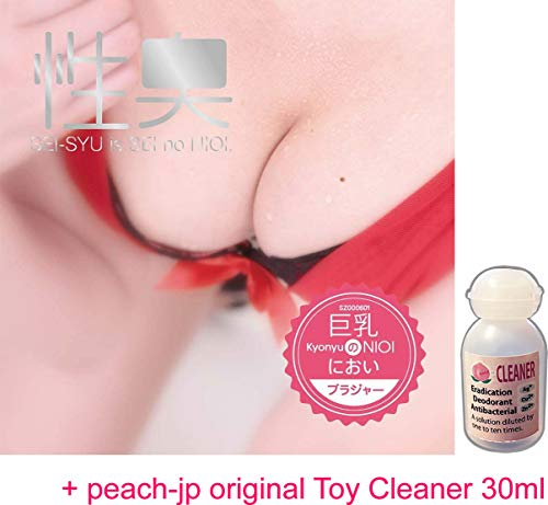 EROX Red Bra of Big Tits Lady with Her Smell/Japanese Fragrance & Peach-jp Original Toy Cleaner 30ml