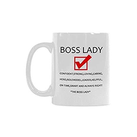 amazing humorous funny saying quotesboss lady magical coffee mug best gift for