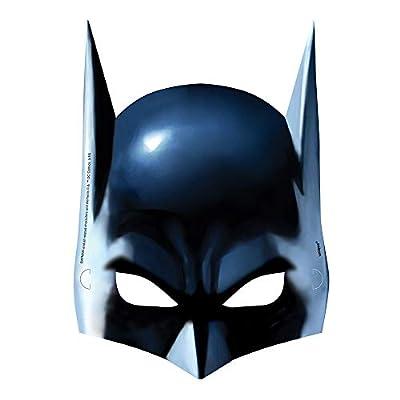 Batman Party Masks, 8ct: Toys & Games