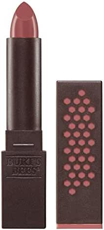 Burt's Bees 100% Natural Moisturizing Lipstick, Blush Basin, 1 Tube